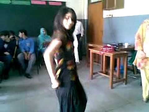 Sexy College Girl Dancing