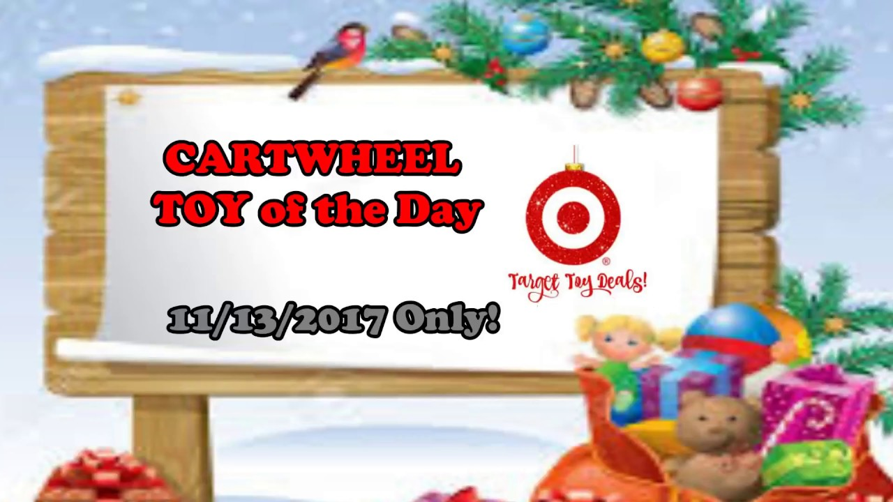 Target Cartwheel Toy of the Day 11/13/2017 In Store Only - YouTube
