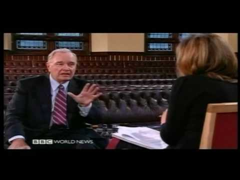 Paul Martin interview Part 1 of 3 BBC 2010