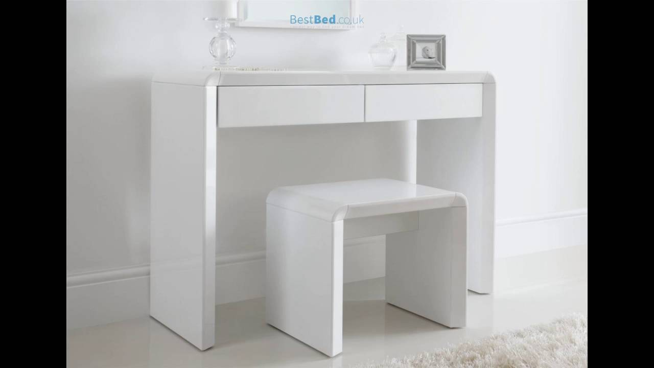 Ice High Gloss Dressing Table Only