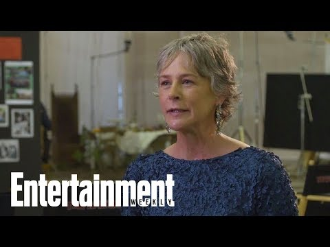 Walking Dead's Melissa McBride Was Thrust Into The World On First Day Filming | Entertainment Weekly streaming vf
