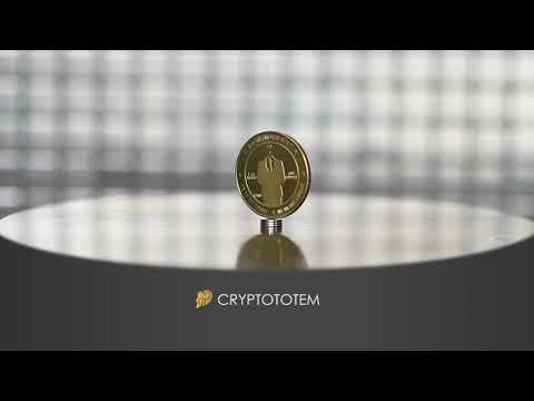 Gold color Bitcoin