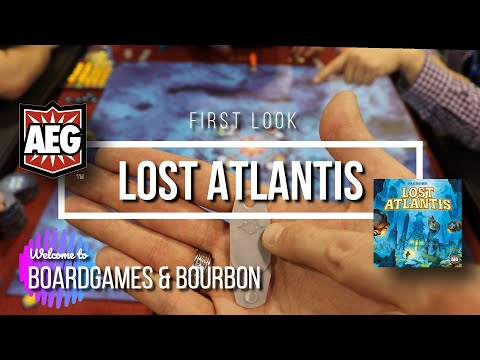 First Look: Lost Atlantis By AEG Games
