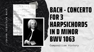 Bach - Concerto for 3 Harpsichords in D minor BWV 1063