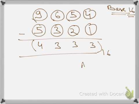 NUMBER SYSTEM - BASE SYSTEM - PART 103