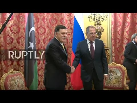 LIVE: Lavrov to meet with UN-backed Libyan PM Fayez al-Sarraj in Moscow