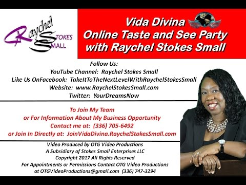 Online Vida Divina Taste And See Party With Raychel Stokes Small