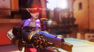 SNIPING FROM THE SHADOWS!   Overwatch #1