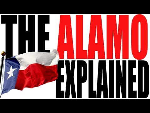 The Alamo Explained