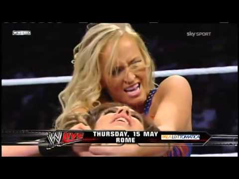 WWE Superstars 20/12/13 - Kaitlyn vs Summer Rae
