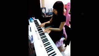 """范瑋琪【悄悄告訴你】(電影""""被偷走的那五年""""主題曲)鋼琴版 cover by:Miemie"""