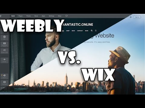 Wix Vs Weebly - Best platform to build a website