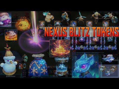 Nexus Token League of Legends Nexus Tokens League of Legends Nexus Blitz  Gameplay 8 24 Snowdown 2018