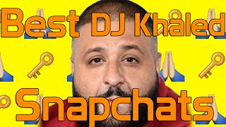 Top 10 Dj Khaled Snapchat Stories Moments 2015 / 2016