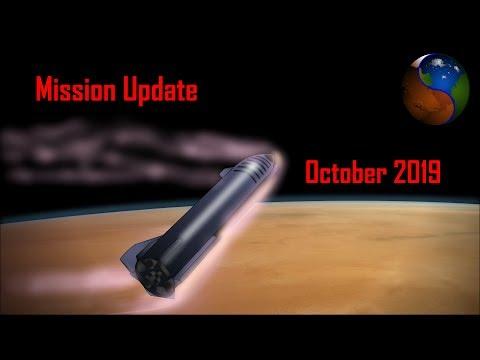 Mars Mission Update: October 2019