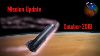 Mars Mission Update: October 2019