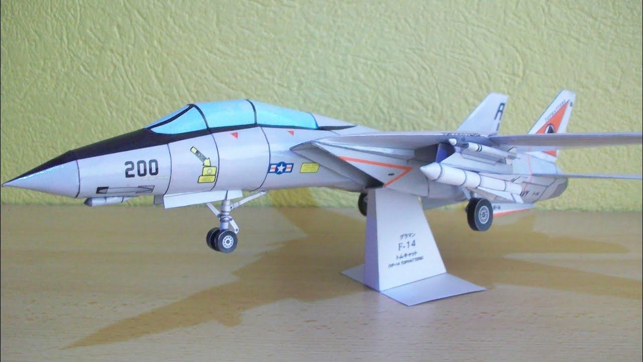 Papercraft F 14 Tomcat Papercraft