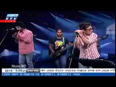 Bangla Folk Song বন্ধু তোর লাইগা রে Live performance 2015 shah abdul karim by Turin Bangladeshi Idol