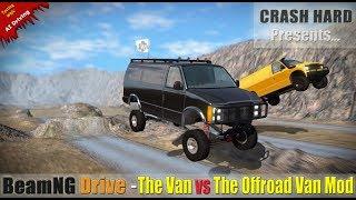 BeamNG Drive - The Van Vs The Offroad Van Mod