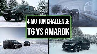 T6 Transporter 204 4Motion v Amarok 3.0 TDI V6