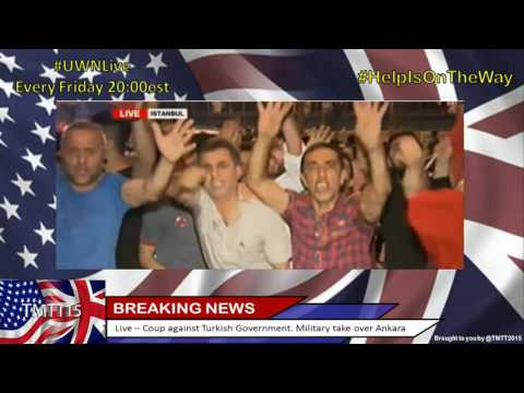 Coup against Turkish Government. Military take over Ankara - Part2