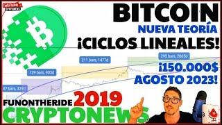 ¡CAÍDA BITCOIN Y CICLOS LINEALES!¡NUEVA TEORÍA! /CRYPTONEWS 2019
