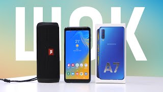 ШОК-цена! Купил Samsung Galaxy A7 2018 и JBL Flip 4 за 10 990 рублей. Обзор и распаковка