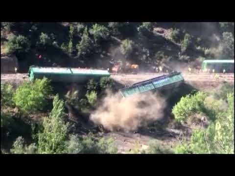 La Hidrográfica abrirá expediente a Adif por los vagones de Sobradelo 5 8 20
