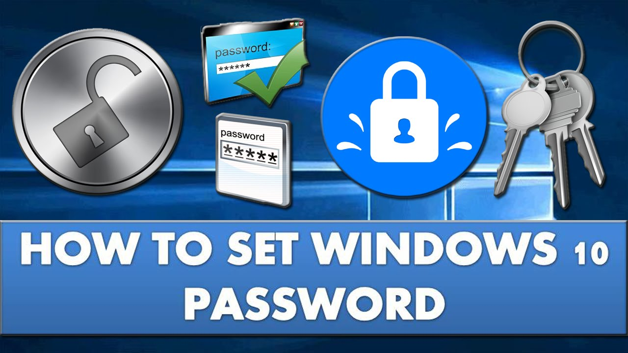 how to get windows 10 to stop asking for password