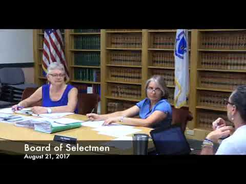 Board Of Selectmen 08.21.17