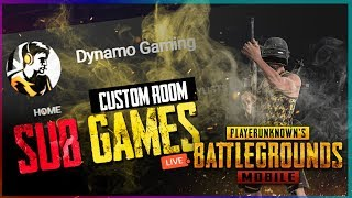 PUBG MOBILE LIVE | SUBSCRIBERS CUSTOM GAMES | SUBSCRIBE & JOIN ME