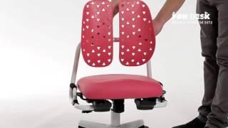 видео Детское кресло FunDesk SST10 Pink