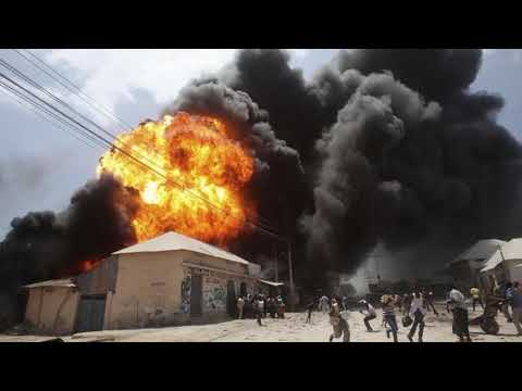 Curious - Gas explosion rocks Ghana's capital Accra, causing fatalities