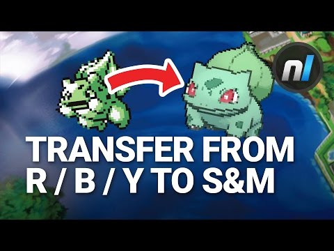How to Transfer Pokémon from Red / Blue / Yellow to Sun & Moon | Pokémon Bank Guide