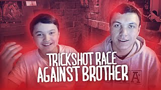 The Trickshot Race Against My Brother (INTENSE)