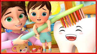 No No Healthy Habits with Baby Monkey   Banana Cartoon Kids Songs and Nursery Rhymes by Little Angel