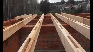 строим дом своими руками балки перекрытия(, 2016-10-06T16:03:28.000Z)