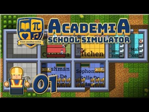 LP Academia - School Simulator : Ep 01 - Principal Wotan !!