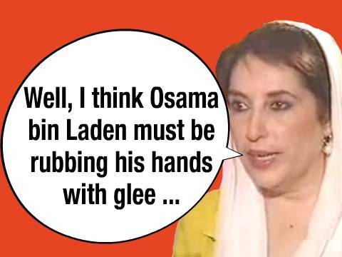Bhutto on Bin Laden After Frost Interview
