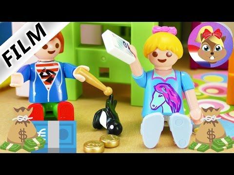 Playmobil filmpje Nederlands | JULIAN en HANNAH willen meer geld | Spaarvarken of meer zakgeld?