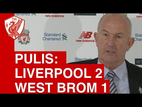 Liverpool 2-1 West Brom - Tony Pulis Post-Match Press Conference