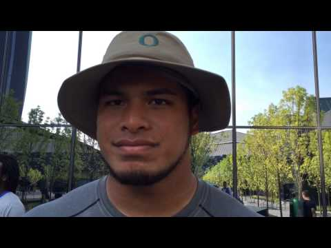 Canton Kaumatule trying to tackle 'stage fright' before first college game
