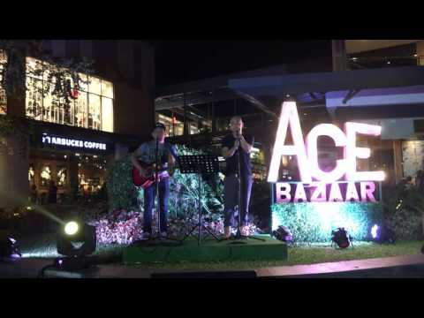 Photograph cover by Music Jammers at the UP Town Center for ACE Bazaar