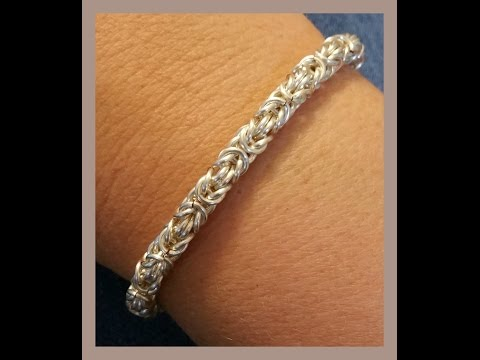 Must Know Monday (11/7/16) Byzantine Chainmaille Bracelet