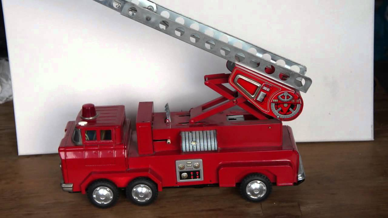 Opinion vintage toy fire trucks