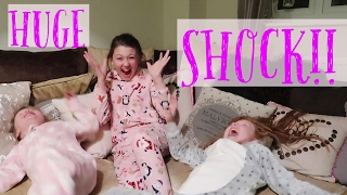 THE GIRLS GET A SHOCK!!