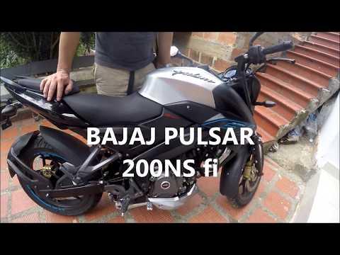 BAJAJ PULSAR 200NS Fi. Fuel Injection - ABS. Cap.2