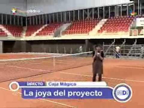 Visita virtual por la caja m gica sede del tenis de - Oficina virtual de caja espana ...