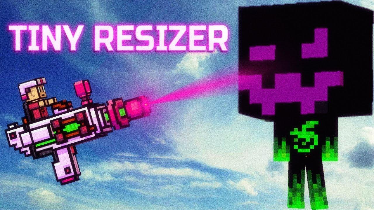 Tiny Resizer - Pixel Gun 3D