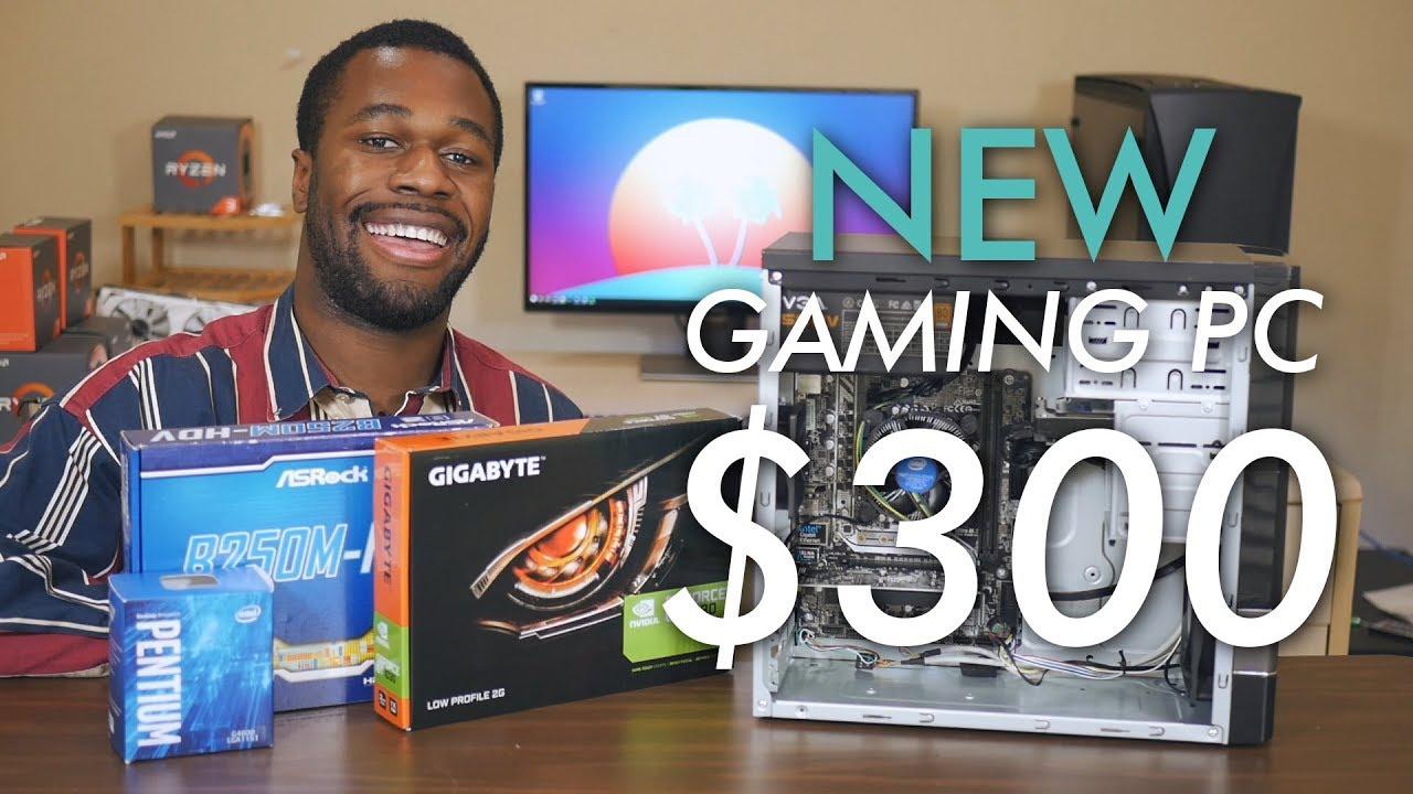 A Brand New 300 Entry Level Gaming Pc Vs Pubg Fortnite More